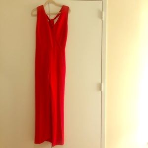 Tory Burch Red Formal Jumpsuit
